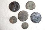 Set Of Roman Coins (lot N°8) To Identify Or Metal Study - Roman