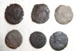 Set Of Roman Coins (lot N°9) To Identify Or Metal Study - Roman