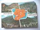 Andorra With Map - Andorra