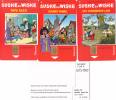 3 Phone Cards Strip BOB ET Bobette Mint Only 500 Made - Belgique