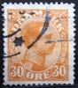 DANEMARK        N° 141      OBLITERE - 1913-47 (Christian X)