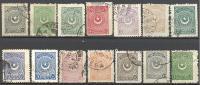 Turquie: Lot 12 Valeurs, A étudier, Voir Scan,  A SAISIR! - Used Stamps