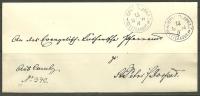 Estland Estonia 1894 Russia Russie Cover CAMBY To St. Petri In Jurjev Dorpat - Briefe U. Dokumente