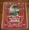 COLLECTION 30 OLD   POSTCARDS OF ROME ,  ON ORIGINAL 1905  FOLDER - Roma