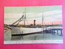 Transport > Ships > Warships Prison Ship Southerly Kittery Navy Yard Kittery Me   1906 Cancel ==  =====   Ref 385 - Guerra