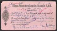PAKISTAN Bank Cheque Australasia Bank Ltd. Toba Tek Singh Branch 5-1-1965 - Bank & Insurance