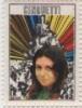 FRANCOBOLLI QUI GIOVANI 1969 GIGLIOLA CINQUETTI EUROSONG  POP ROCK SINGER CANTANTE VIGNETTE ERINNOPHILIE CINDERELLA - Etichette Di Fantasia