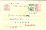 """REF LIT10 - ESPAGNE - EP CP """"II REPUBLICA"""" 15c AVEC COMPL.T VOYAGE DE VITORIA A EINDHOVEN 3/1/1933 - Entiers Postaux"""