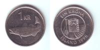 Iceland 1 Krona 1996 - Island
