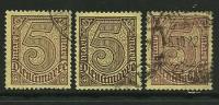 GERMANIA REICH 1920 / 21 - SERVIZI - N. 28 Usati - F.1 - Cat. 12,00 € - L. N. 3999 - Service