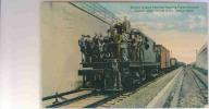 ETATS UN IS    DETROIT  MICHIGAN  - TRAIN ELECTRIC ENGINE - Detroit