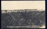 POSTCARD GERMAN WW1 PRISONERS FRITH HILL POW CAMP ALDERSHOT LEICESTER 1914 PM World War 1 POW BOURLEY CAMP - War 1914-18