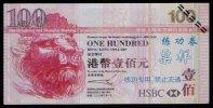 Test/training Note Aus CHINA, 100 Dollar HONG KONG, Beids. Druck, RRR, UNC - Hongkong