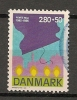 DENMARK  - 40e Anniv. De La Liberation  - Yvert # 838 - VF USED - Denmark