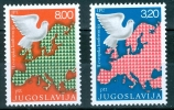 Jugoslavia 1975 Collaborazione Europea MNH - Lot. 313 - 1945-1992 Repubblica Socialista Federale Di Jugoslavia