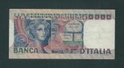 50.000  LIRE - VOLTO DI DONNA - ANNO 1978 - D.M. 23.10.1978 - FIRME: BAFFI / STEFANI - [ 2] 1946-… : République