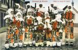Binche - Carnaval - Gilles En Tenue Du Matin - Binche