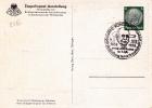 """1938 - ALLEMAGNE - EXPOSITION """"GRAF ZEPPELIN"""" - CARTE POSTALE ENTIER De KONSTANZ - Zeppelins"""
