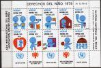 1979, Espagne - Spain,  DERECHOS DEL NINO 1979, UNICEF, Neuf **,  Lot 31727 - Commemorative Panes