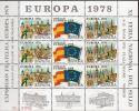 1978, Espagne - Spain,  XI Feria Nacional Del Sello, EUROPA 1978, Neuf **,  Lot 31728 - Commemorative Panes