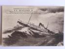 La Grande Guerre 1914-18,Le SS MUSTAPHA II Croiseur Francais Chassant Un Sous Marin Par Gros Temps - Warships