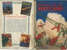 """Ancienne Brochure - En Français - Aventures Au Pays MECANO - """" MECANO LIMITED LIVERPOOL ANGLETERRE """"   (J1647) - Catalogues"""