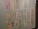 Capicua Colección Antigua Billetes Tranvia Y Bus, Serie 10000. Palindromic Tickets. Ver Foto Auténtica. - Bus