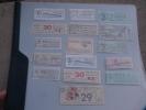 Capicua Colección Antigua Billetes Tranvia Y Bus, Serie 20000. Palindromic Tickets. Ver Foto Auténtica. - Europa