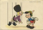 Walt Disney :  L'incontro Di Pinocchio Coi Burattini  ( Format 15 X 10.5 Cm ) - Disney