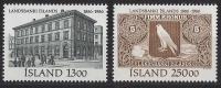 ISLANDE 1986 - Cent De La Banque Nationale - 2v Neuf ** (MNH) - Islande