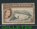 ASCENSION, AFRICA - STAMP - WATER CATCHMENT - 1/2d -  1956 -scott # 62 - - Ascension (Ile De L')