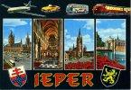 Ieper Vliegtuig Sabena Auto Autobus Autocar Bus Trein TEE Saurer - Ieper