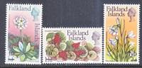 Falkland Islands 197-99   **  FLORA - Falkland Islands