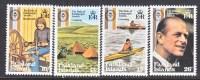 Falkland Islands 327-30  ** DUKE Of EDINBURGH'S AWARDS - Falkland Islands