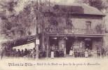 VILLERS LA VILLE = Hôtel De La Forêt En Face De La Porte De Bruxelles - Carte Animée (Desaix) 1914 - Villers-la-Ville