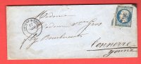 Pli - Savigny Sur Orge (Essonne) - PC 2845 - (Novembre 1855) - Poststempel (Briefe)