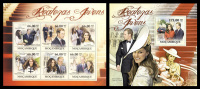 MOZAMBIQUE 2011 - Prince William & K. Middleton M/S + S/S Official Issue - Feesten