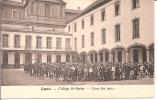 """GENT   Collège Ste BARBE  - COUR DES JEUX   + TAXE  5c.  HUY  1905"""" - Gent"""