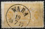 Suede (1874) Service N 8 (o) D.14 - Service