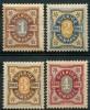 Suede (1892) N 51 à 54 * (charniere)