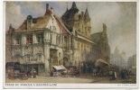 Malines Mechelen Place Du Marché En 1884 W. Callow Asile Soldats Invalides Belges 1914 - Malines