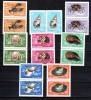 Roumanie 1966, Crustacés Et Mollusques, 2240 / 2247**en Paire, Cote 20 € - Meereswelt