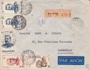 MADAGASCAR - 1952 - ENVELOPPE RECOMMANDEE Par AVION De MAJUNGA Pour MARSEILLE - Madagascar (1889-1960)
