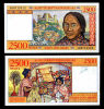 Madagascar - 2.500 Francs 2500 Date: (1998) Catalog No.: 081 Grading: UNC - Madagaskar