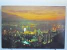Hong Kong - La Nuit - Million Lights Aglow - Chine (Hong Kong)