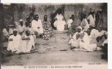 COTE D'IVOIRE 10 UN ALMAMY ET SES VISITEURS (BELLE ANIMATION) - Côte-d'Ivoire