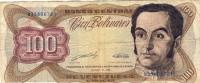 Venezuela 100 Bolivares 1989 - Venezuela