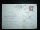 CP ENTIER POUR LE MAROC TYPE PETAIN 1,20 F OBL. MECANIQUE 24-11-1942 AMIENS-GARE (80 SOMME) + GRIFFE SERVICE INTERROMPU - Marcophilie (Lettres)