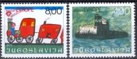 Jugoslavia 1977 Europa MNH - Lot. 357 - 1945-1992 Repubblica Socialista Federale Di Jugoslavia