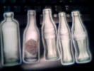 Lot De 5 Magnets Coca Cola, évolution De La Bouteille En Verre - Coca-Cola